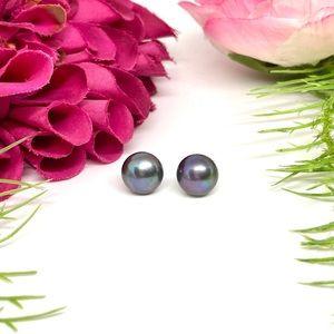 NEW⚜️GENUINE Cultured Pearl Tahitian Earrings